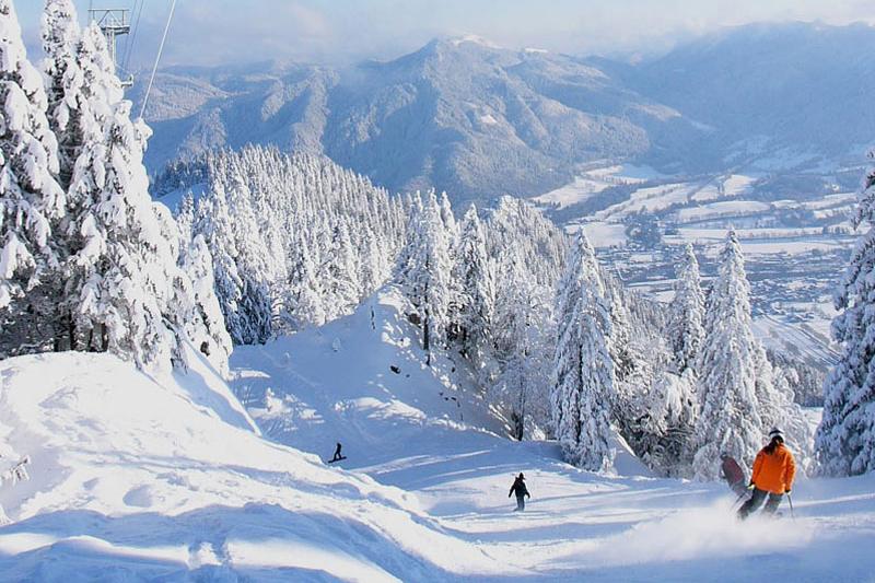 Skiegebiet Lenggries - Brauneck im Tölzer Land - Oberbayern