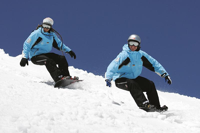 Snowboarden im Tölzer Land - Oberbayern