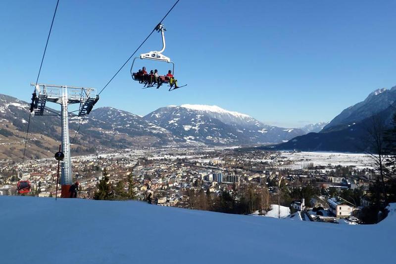 Lift mit Blick auf Lienz - Osttirol