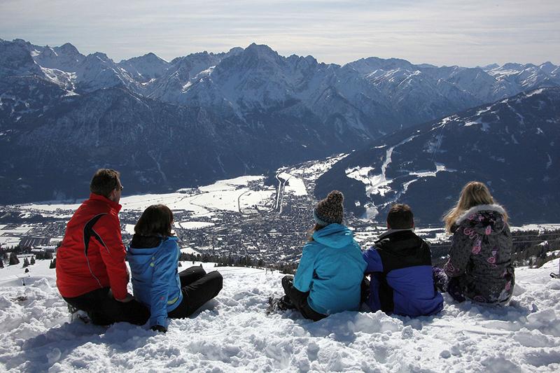 Traumhafter Panoramablick über Lienz - Osttirol