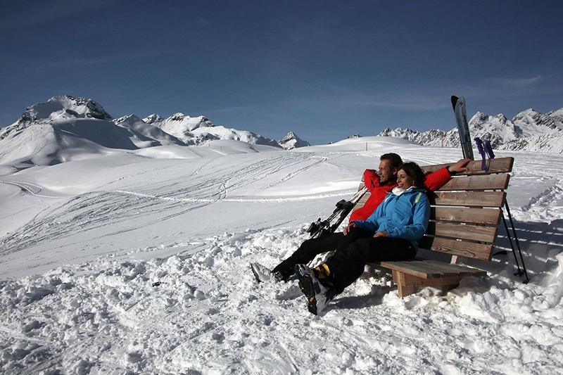 Sonnenbaden in den Lienzer Dolomiten - Osttirol