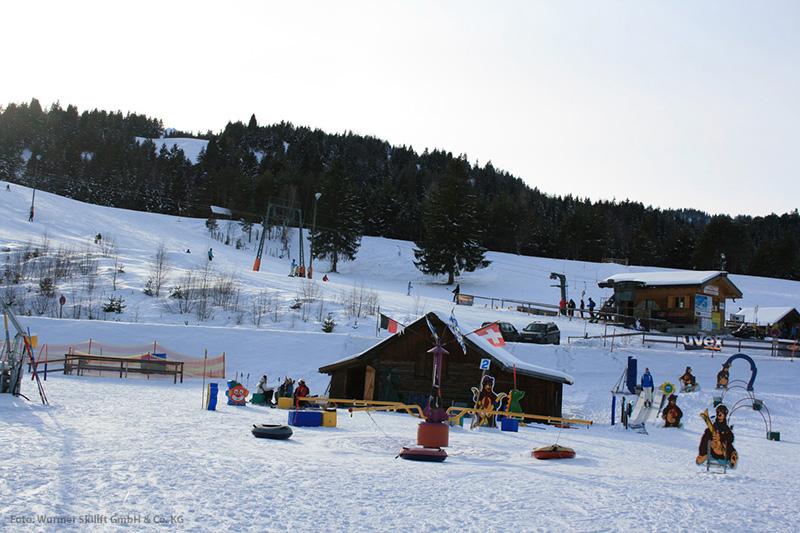 Kinderpark im Skigebiet Kranzberg - Mittenwald