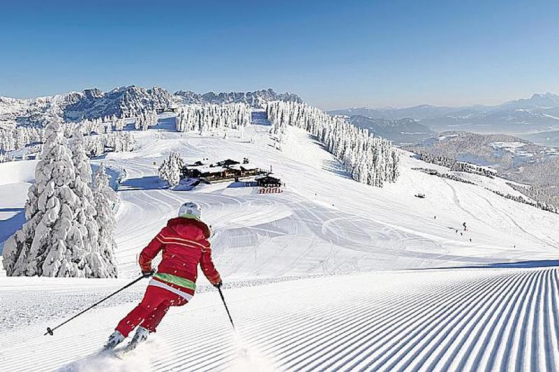 Perfekte Pistenverhältnisse zum Skifahren in Mittenwald - Oberbayern
