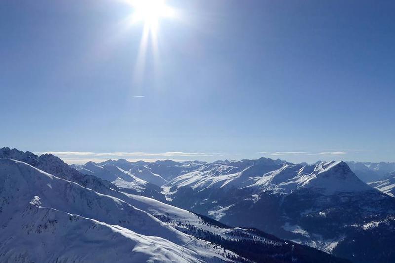 Höchster Punkt im Skigebiet Nauders: Der Güser Kopf