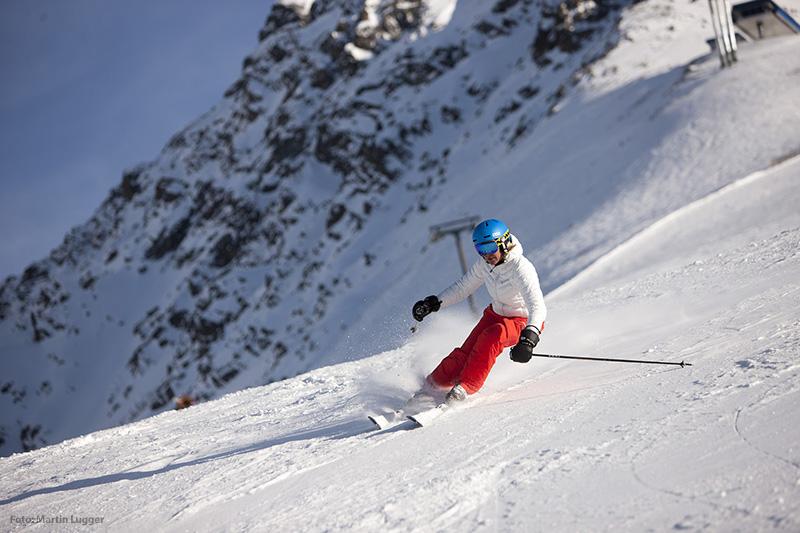 Skifahren im Tiroler Oberland