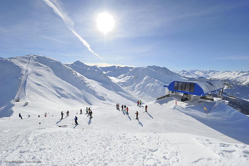 Nauders Reschenpass im Tiroler Oberland