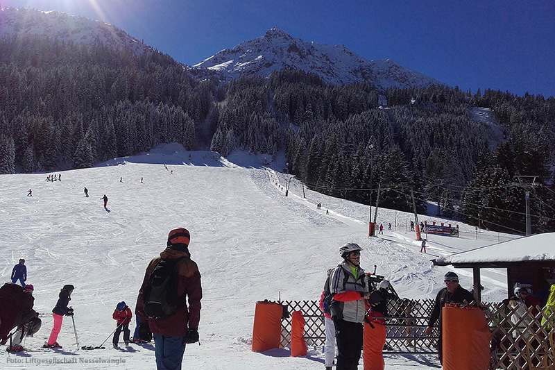 Skigebiet Nesselwängle