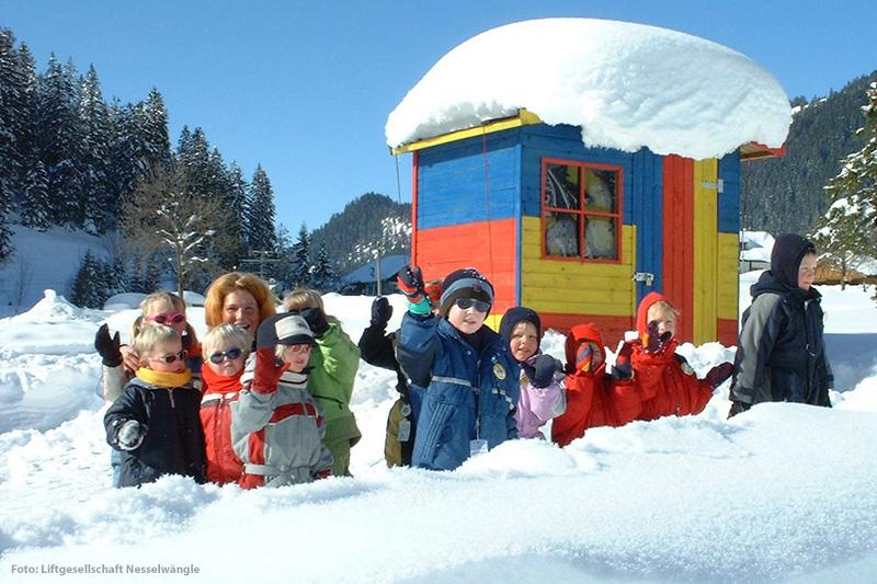 Die Nesselwängle Kinderskischule