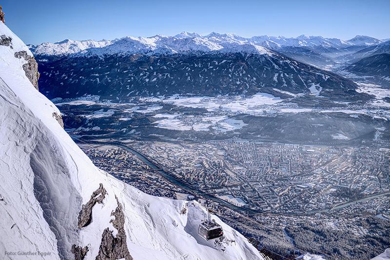 Skigebiet Nordkette