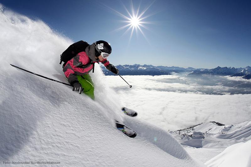 Skifahren in Innsbruck