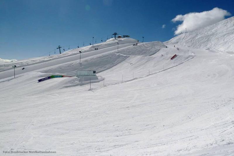 Snowpark Skigebiet Nordkette