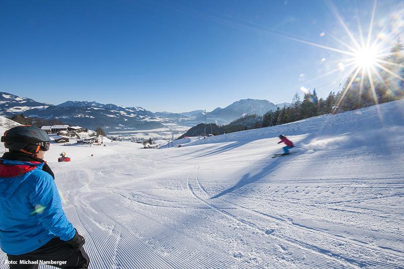 Skifahren im Chiemsee Alpenland