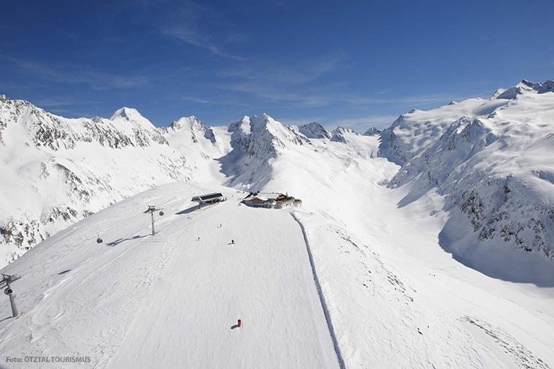 Skigebiet Obergurgl-Hochgurgl in der Region Öztal in Tirol