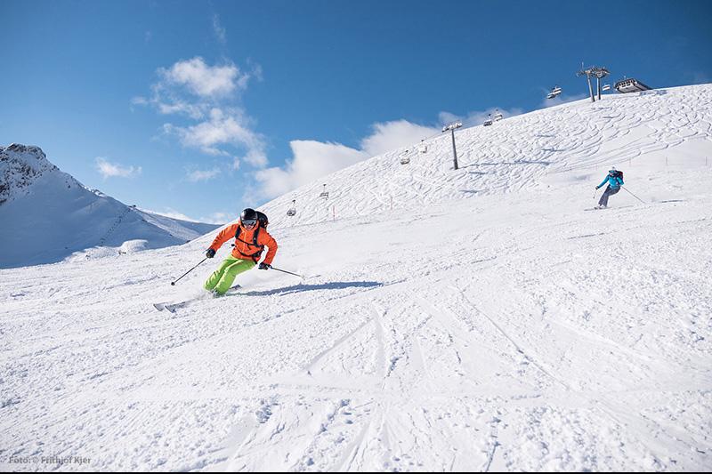 Skigebiet Fellhorn - Oberstdorf
