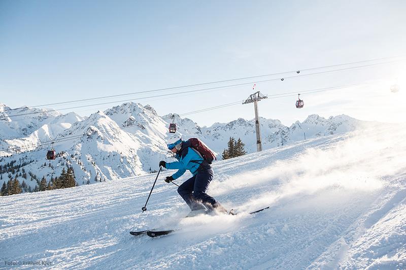 Skifahren in Oberstdorf - Fellhorn/Kanzelwand