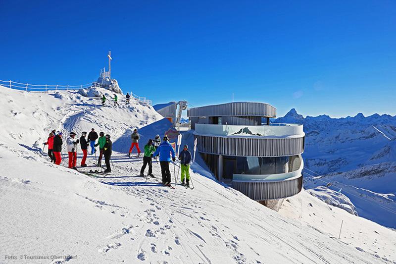 Skigebiet Nebelhorn - Oberstdorf