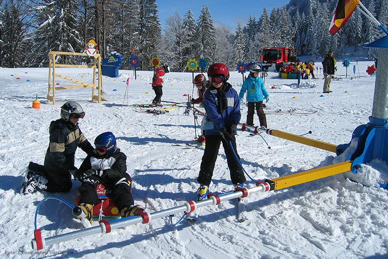 Spaß im Kinderland in Oberstaufen