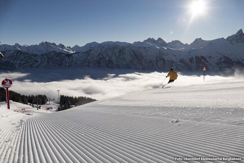Skifahren in Allgäu