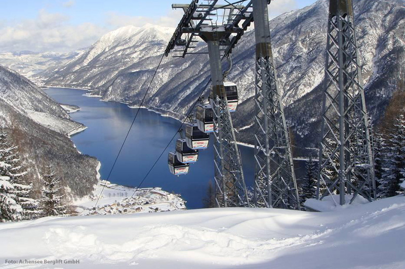 Skigebiet Pertisau in der Region Achensee in Tirol