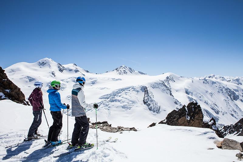 Skifahren im Skigebiet Pitztaler Gletscher und Rifflsee