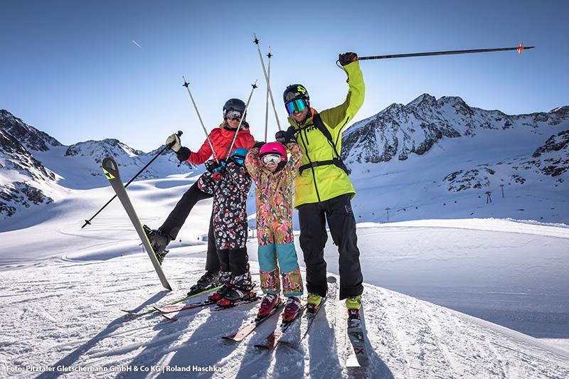 Skigebiet Pitztaler Gletscher in Tirol