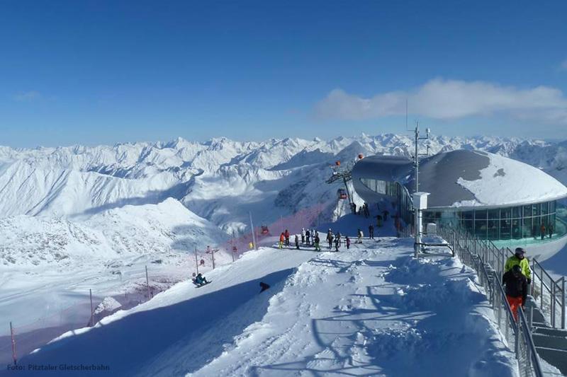 Pitztaler Gletscher Panorama