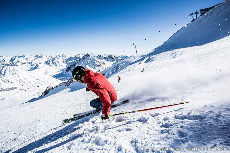 Skifahren auf Tirols höchstem Gletscher