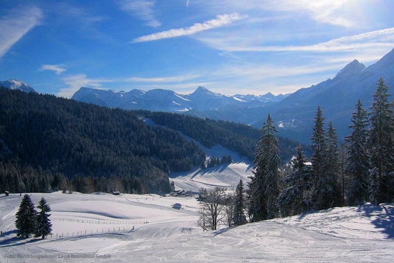 Skigebiet Ramsau-Hochschwarzeck
