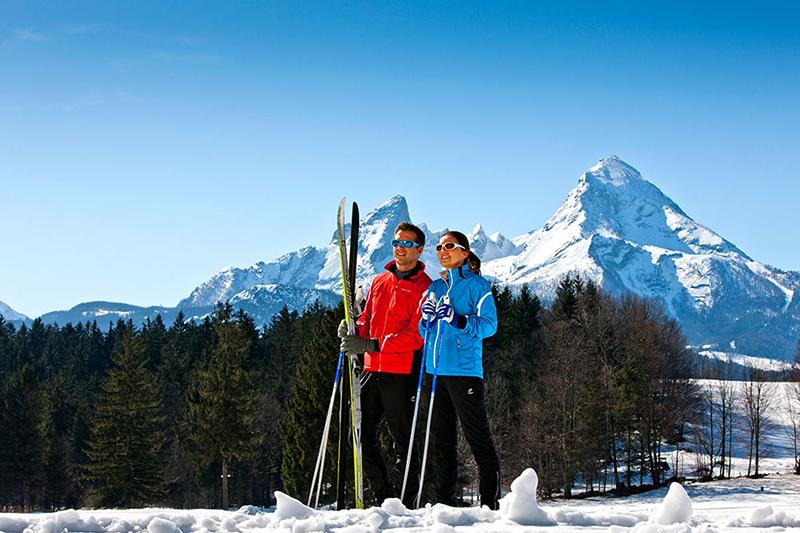 Wintersport genießen im Skiegebiet Oberau-Roßfeld
