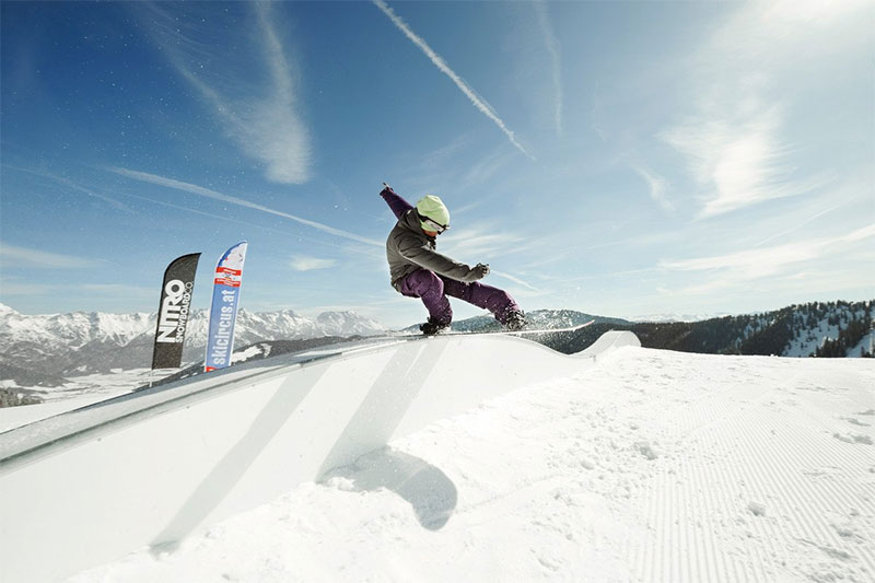 NITRO Snowpark Leogang