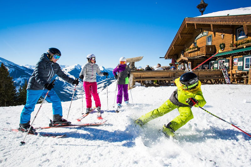 Familienurlaub im Skicircus Saalbach-Hinterglemm-Leogang-Fieberbrunn