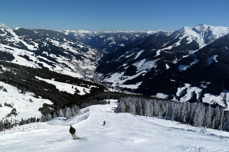 Die Gratabfahrt in Tirol