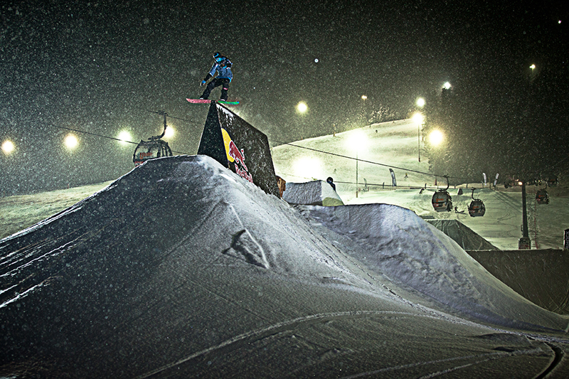 Nachtskifahren in Saalbach-Hinterglemm