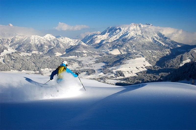 Skigebiet Fieberbrunn/ Tirol