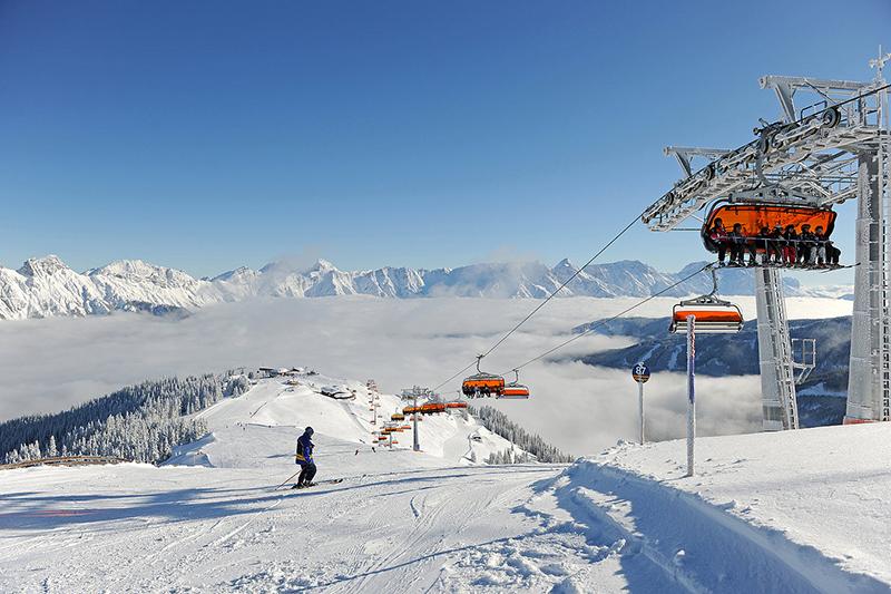 Über den Wolken in den Kitzbüheler Alpen