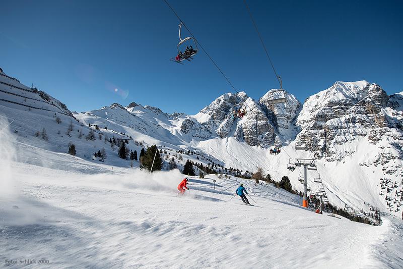 Skigebiet Schlick 2000
