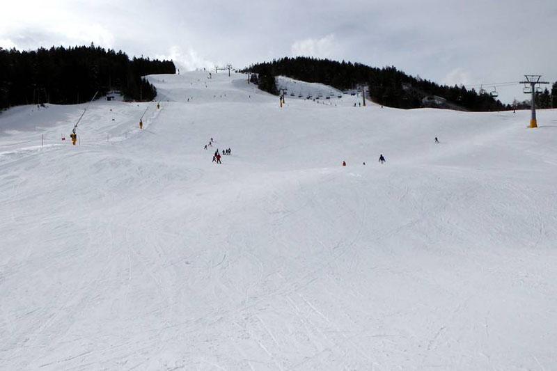 Sehr gute Pistenpräparierung in der Seefeld Olympiaregion in Tirol