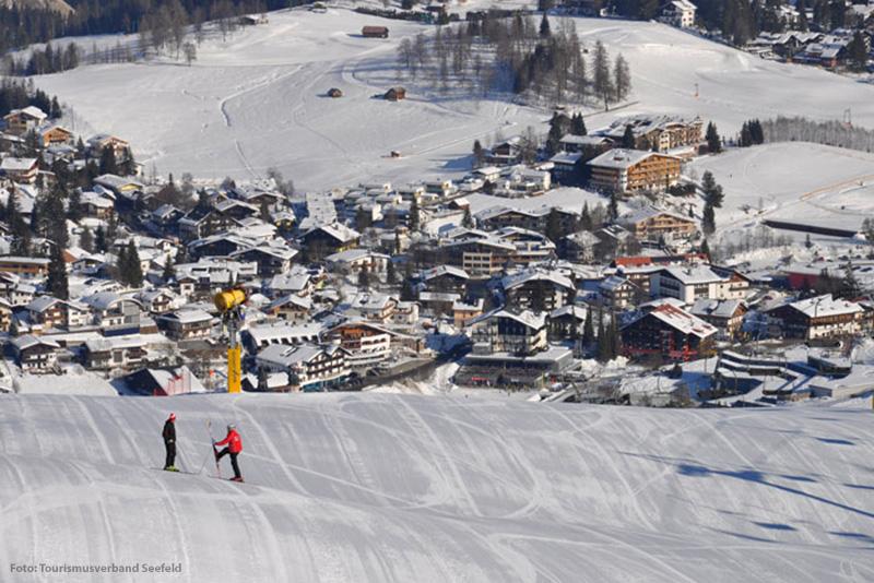 Skigebiet Gschwandtkopf - Seefeld