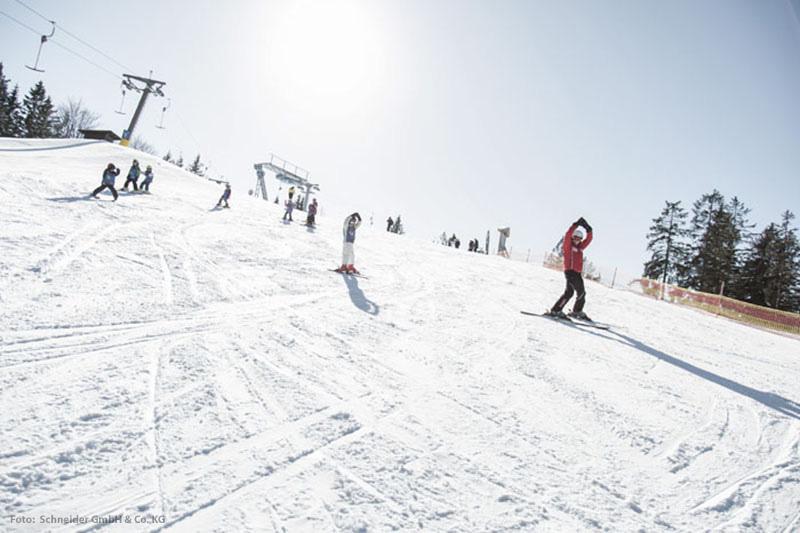 Skikurs am Gschwandtkopf