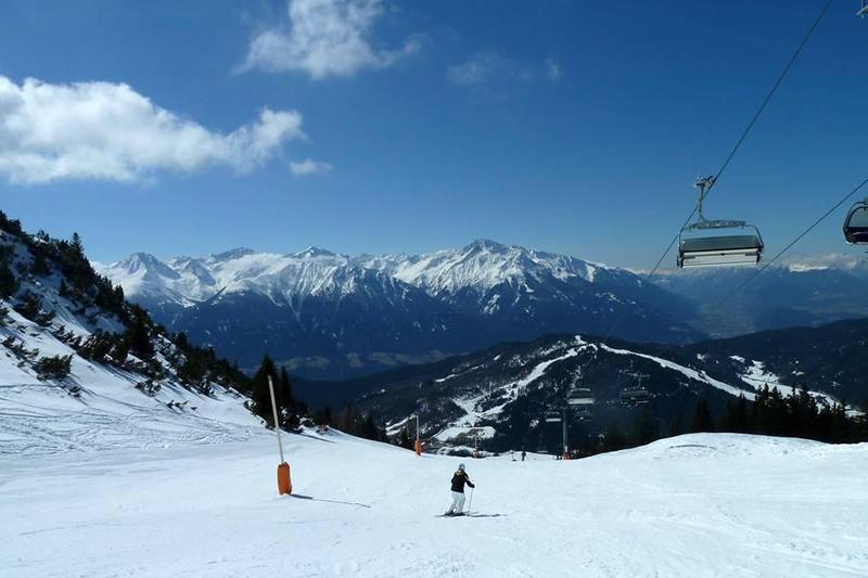 Skifahren am Härmelekopf in der Seefeld Olympiaregion in Tirol