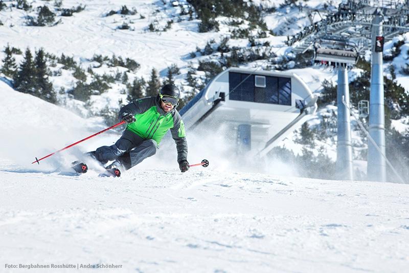 Skifahren in Olympiaregion Seefeld