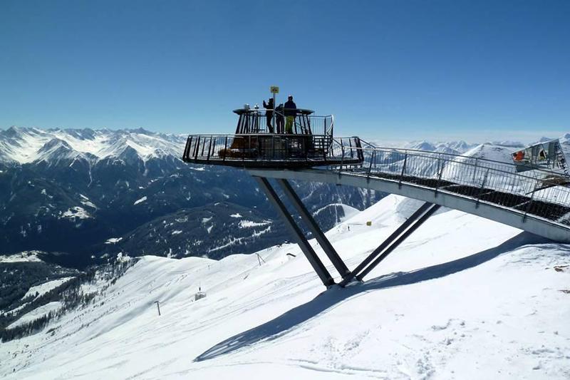 Aussichtspunkt am Zwölferkopf auf 2600m