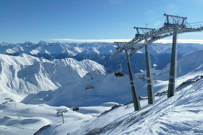 Die Masnerkopfbahn im Skigebiet Serfaus-Fiss-Ladis