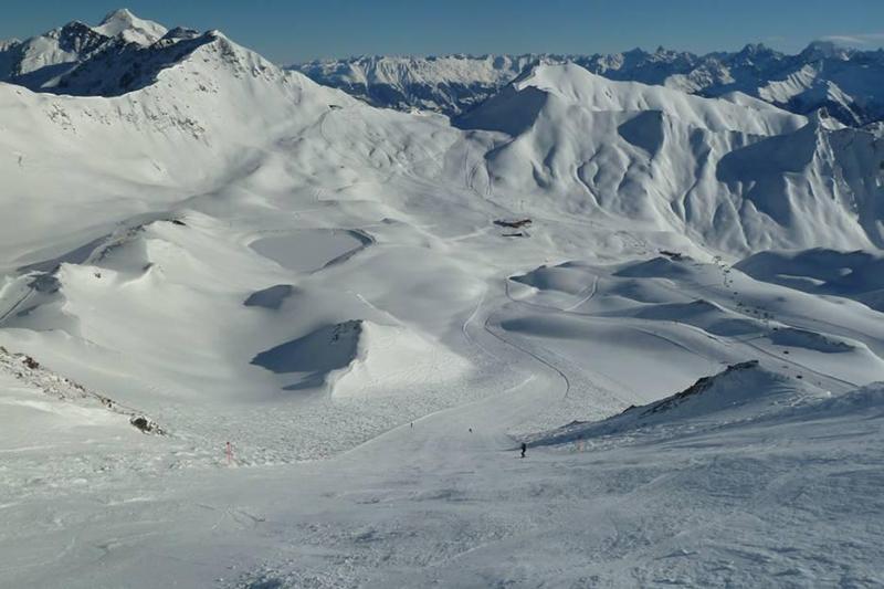 Skigebiet Serfaus-Fiss-Ladis im Tiroler Oberland in Österreich