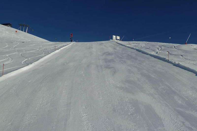 Sehr gut präparierte Pisten im Skigebiet Serfaus-Fiss-Ladis