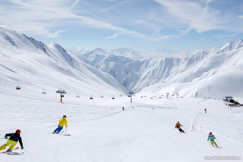 Das Familienskigebiet Serfaus-Fiss-Ladis in Tirol