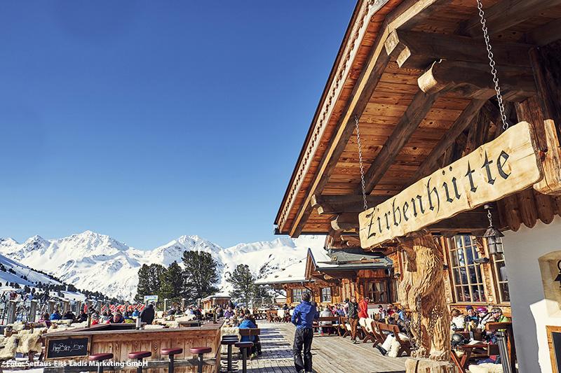 Zirbenhütte in Tirol