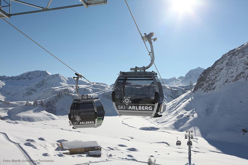 Auenfeldjet im Skigebiet Warth - Schröcken