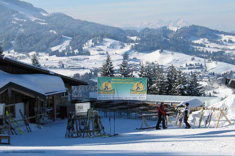 Alm in Hündle-Thalkirchdorf in der Region Oberstaufen - Allgäu