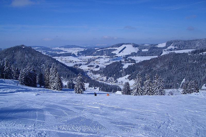 Perfekte Skipistenverhältnisse in Oberstaufen-Hündle/Thalkirchdorf